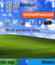 Windows XP 05 theme screenshot
