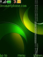 Green theme screenshot