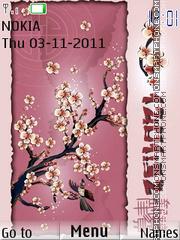 Capture d'écran Japan style thème
