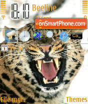 Wild Cat theme screenshot