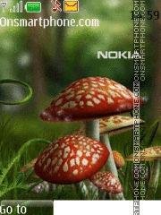 Nokia Mushroom theme screenshot