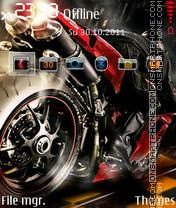 Fire Motogp theme screenshot