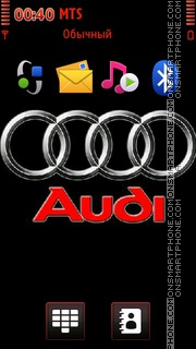 Audi Emblem Theme-Screenshot