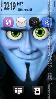 Скриншот темы Megamind Nokia Theme