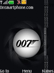 James Bond 007 es el tema de pantalla
