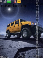 Hummer theme screenshot