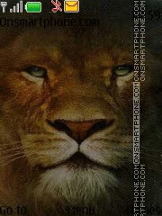 Strong Lion theme screenshot