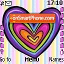 Hearts 01 es el tema de pantalla
