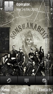 Sons of anarchy tema screenshot