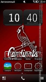 Cardinals Logo es el tema de pantalla
