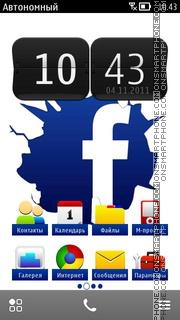 Facebook Cracked es el tema de pantalla