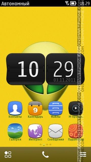 Alienware 11 theme screenshot