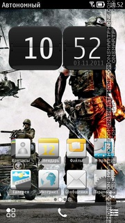 Battlefield 3 03 Theme-Screenshot