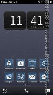 Capture d'écran Grey B. S^3 thème
