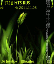 Скриншот темы Grasses