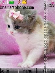 Cute Kitty 07 theme screenshot