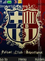 Скриншот темы Fc Barcelona 22