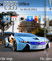 Скриншот темы Future Bmw 01