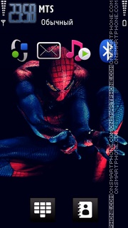 Скриншот темы Spiderman 4 01