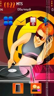 Dj Musician tema screenshot