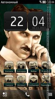 Nikola Tesla theme screenshot