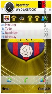 Barcelona S.C theme screenshot