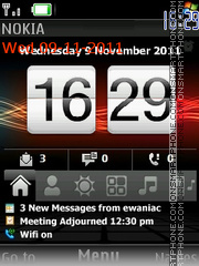 HTC HD theme screenshot