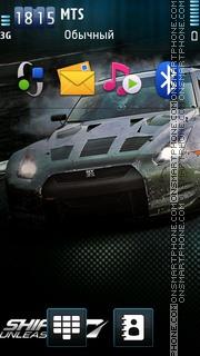 Nfs Shift 2 Unleashed es el tema de pantalla