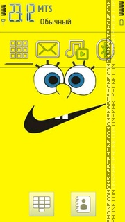 Sponge Bob Vs Nike theme screenshot