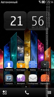 Hd Colours 01 theme screenshot