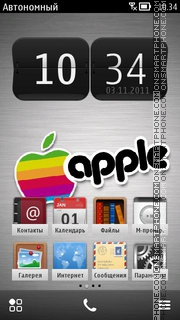 Apple IphOne 04 theme screenshot
