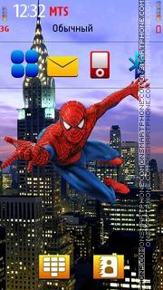 The Amazing Spiderman theme screenshot