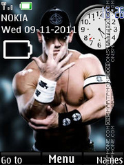 John cena clock theme screenshot