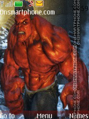 Red hulk theme screenshot