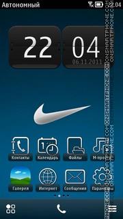 Nike Logo 02 theme screenshot