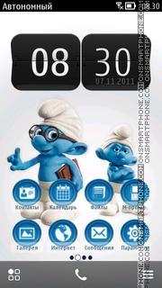 Smurfy theme screenshot
