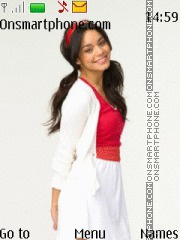 Vanessa Hudgens 01 theme screenshot