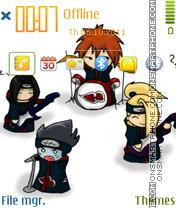 Music Akatsuki Band theme screenshot