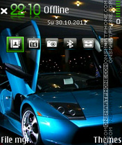 Beauty Car theme screenshot