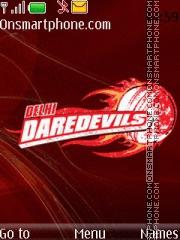 Capture d'écran Delhi Daredevils 02 thème