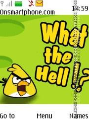 New Angry Birds es el tema de pantalla
