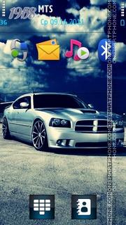 Dodge Charge theme screenshot