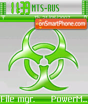 MM biohazard theme screenshot