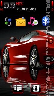 Ferrari 605 Theme-Screenshot