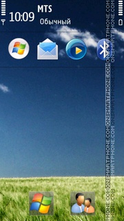 Nature Windows 7 HD theme screenshot