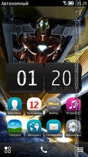 Iron Man 06 es el tema de pantalla