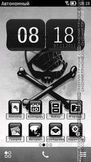 Pirate Apple theme screenshot