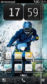 Скриншот темы Bike 14