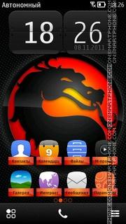 Mortal Kombat Logo Theme-Screenshot