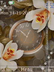 Orchid es el tema de pantalla